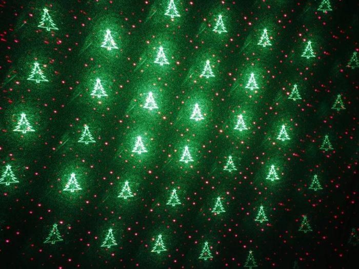 535213 laserski projektor novoletni